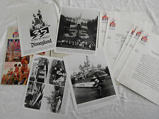 Vintage Disneyland 35th Anniversary Press Kit 1990 Photos Photograph