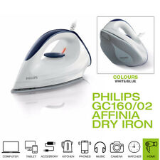 New Philips GC160/02 Affinia Dry Iron with DynaGlide Soleplate, 1200W, Purple
