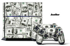 Skin Sticker for PS4 System Playstation 4 Console +2 Controller Decals - BALLIN