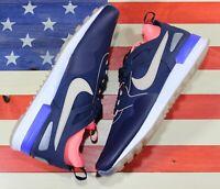 Nike Air Pegasus 89 Tech SI Womens Running Shoes Blue Lava Max Glow [881180-400]