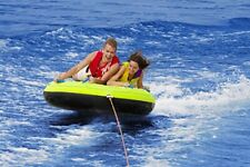 New listing Airhead Ahcs-65 Comfort Shell Deck Water Tube 65in. Towable Inflatable 2 Riders