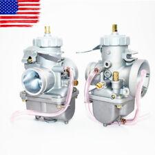 NEW  Pair Carburetor For Honda CB350 CB350G CB360 CB360G CB360T CL350 FREE ship
