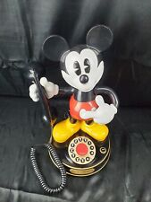 """VTG 15"""" Disney Mickey Mouse Talking Dial Telephone  Telemania *tested & working"""