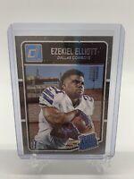 Ezekiel Elliot 2016 Panini Donruss Football Rated Rookie RC Card #168 Cowboys