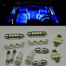 18 x Blue LED interior Bulbs + License Plate Lights For GMC Yukon XL 2000-2014