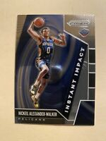 2019–20 Panini Prizm Instant Impact Nickeil Alexander-Walker Rookie Card #13