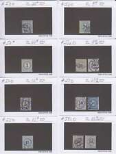A6908: 19th Switzerland Postage Due Stamps; CV $473