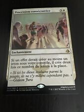 MTG MAGIC AMONKHET ANOINTED PROCESSION (FRENCH PROCESSION CONSECRATRICE) NM FOIL
