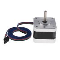 1pack 1.8Deg NEMA 17 75x42x42mm Stepper Motor 0.32Nm 42mm For 3D Printer/CNC