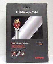 AudioQuest Cinnamon 20m (65.61 ft.) White HDMI Cable PVC Jacket