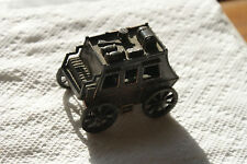 Old Vintage Stagecoach Carriage Pencil Sharpener Hong Kong Miniature Western