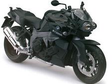 BMW K1300R BLACK BIKE 1/12 MOTORCYCLE MODEL BY AUTOMAXX 600902BK