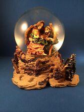 Nativity Scene Musical Large Snow Globe