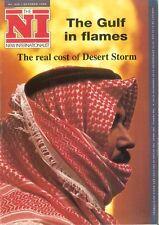 The New Internationalist: Desert Storm Gulf War Kuwaiti Oil Fires - October 1992