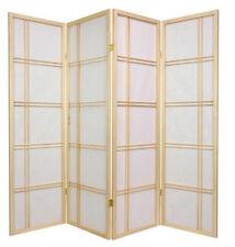 Brand New 4-panel multifunction Paper Shoji Screen room divider- nature- Asdi