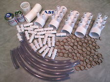 """Manifold Hot Tub Spa Part 26 3/4"""" Outlets Glue with Coupler Kit Video How To"""