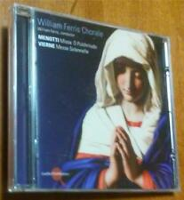 William Ferris Chorale ~ Menotti-Missa:  O Pulchritudo; Vierne-Messe Solenn - CD