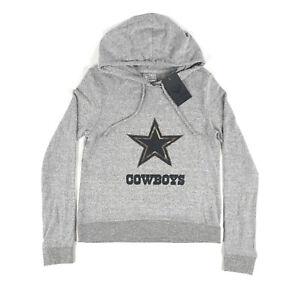 Dallas Cowboys NFL Fanatics Womens Medium Camo Gray Pullover Hoodie Sweatshirt