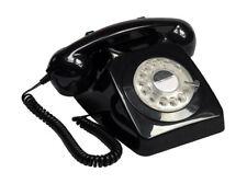 GPO 746 Push Button Retro Telephone - Black
