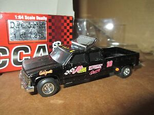 Chevy Dually 1 ton 18 dale jarrett 1:64 Truck  crewcab joe gibb interstate