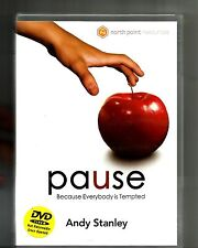 ANDY STANLEY Pause (2006, DVD) North Point 4 Messages Christianity
