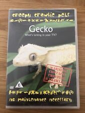 Gecko. Creepy Crawlie Pets. Rare DVD. New Sealed.