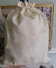 Wedding Accessory Ivory Moire Bridal Keepsake Bag