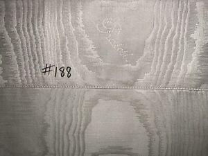 (#188) NEW PRATESI NEO MOIRE'JACQUARD BOUDOIR SHAM~ORG $150