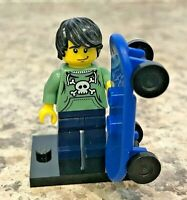 Genuine LEGO Minifigure - Skater - Complete From Series 1 - col006