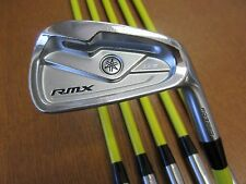 Used YAMAHA Golf RMX 116 Forged 5-PW Iron set Tour AD AD-75R Graphite Regular