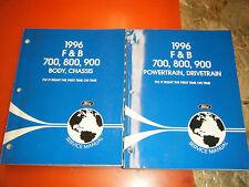 1996 FORD F & B 700 800 900 TRUCK ORIGINAL FACTORY SERVICE MANUALS WORKSHOP SHOP