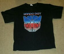 SOFT TRUE VINTAGE TRANSFORMERS MENS 80s SHIRT SIZE MEDIUM Honda Day PROMO TSHIRT