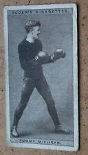Ogdens Cigarette Cards; 1928 Pugilists in Action. Tommy Milligan 28/50