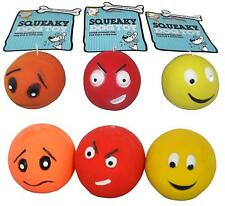Armitage Goodboy  Latex Face  Ball Squeaky Balls Fetch Toy Bright Dog Puppy Toy