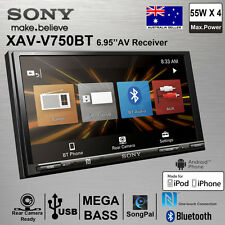 "NEW SONY XAV-V750BT Double Din 6.95"" BLUETOOTH USB MP3 Car Stereo Audio Player"