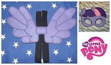 Handmade Eye Mask and Small Wings Set - Twilight Sparkle  - My Little Pony