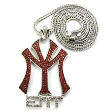 BLACK&RED YOUNG MONEY PIECE & FRANCO CHAIN