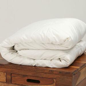 Kensingtons®100%Canadian Goose Down Duvet Silk Cotton Cover 13.5 & 15.0 Togs
