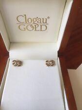 clogau rose gold earrings. Diamond