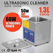 Neu 1.3 Ultraschallreiniger Ultraschallbad Reinigungsgerät Brillen-Reiniger