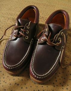 Chaussures Mocassin TIMBERLAND Classic 3 Eye Bateau Vintage - US 9 / Fr 43