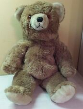 "Vintage Atlanta Gerber Large 22"" Teddy Bear Pot Belly Brown Tan Plush toy"