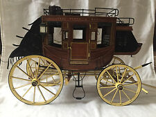 Handmade 1:10 wooden museum quality model 1848 Stage Coach (Artesania Latina kit