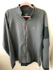 Men's ARC'TERYX Light Weight Full Zip Jacket-Blue/Gray-Size XL