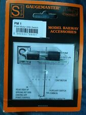 Gaugemaster Point Motor with switch PM1 New (x1)