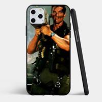 iPhone 11, PRO, MAX Case TPU Cover Arnold Schwarzenegger COMMANDO ROCKET