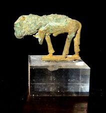 TAUREAU APIS EGYPTIEN EN BRONZE - LATE PERIOD 600 BC - EGYPTIAN BRONZE APIS BULL