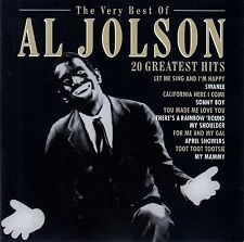 AL JOLSON : THE VERY BEST OF AL JOLSON - 20 GREATEST HITS / CD
