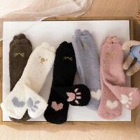 3PCS Women Winter Cute Cat Claws Sleep Floor Socks Warm Christmas Gifts