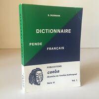 Dizionario Pende-Français Abate Bartolomeo Gusimana Ceeba 1972